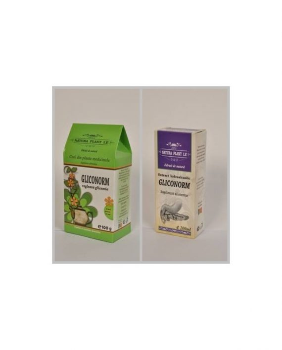 Ceai Gliconorm 100gr.+Extract Gliconorm (diabet) 200ml